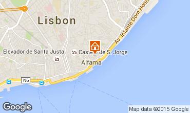 Karte Lissabon Appartement 26404