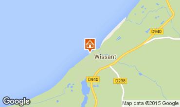 Karte Wissant Appartement 60362