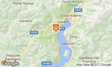 Karte Riva di Solto Appartement 44030