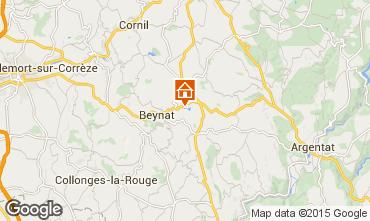 Karte Brive-la-Gaillarde Chalet 99381
