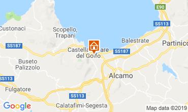 Karte Castellammare del Golfo Villa 103445