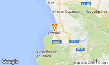 Karte Agropoli Appartement 34155