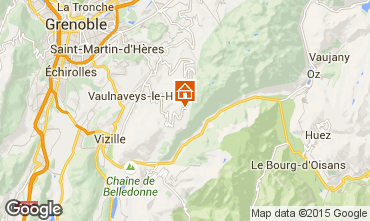 Karte Chamrousse Appartement 60559