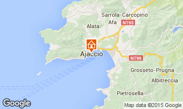 Karte Ajaccio Appartement 73148