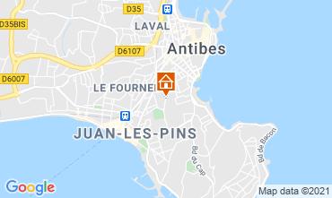 Karte Juan les Pins Appartement 15846