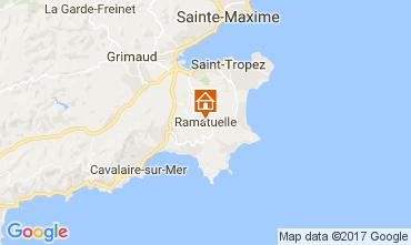 Karte Ramatuelle Mobil-Home 107839