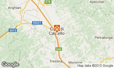 Karte Città di Castello Appartement 74064