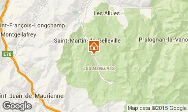 Karte Les Menuires Chalet 1767