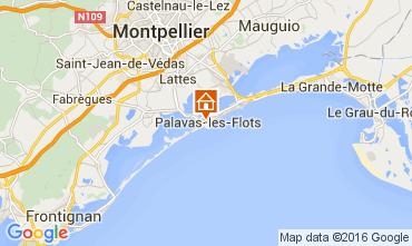 Karte Palavas-les-Flots Appartement 104876