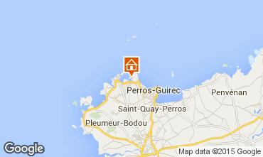 Karte Perros-Guirec Studio 16295