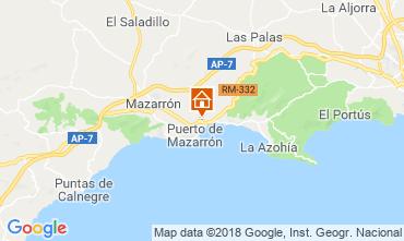 Karte Puerto de Mazarrón Bungalow 117322