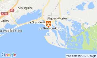 Karte Le Grau du Roi Appartement 72071
