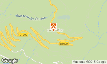 Karte La Rosière 1850 Studio 80729