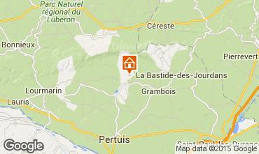 Karte La Tour d'Aigues Villa 24563