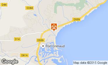 Karte Port Grimaud Mobil-Home 11587