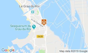 Karte Le Grau du Roi Studio 93396
