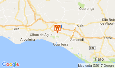 Karte Vilamoura Villa 109457