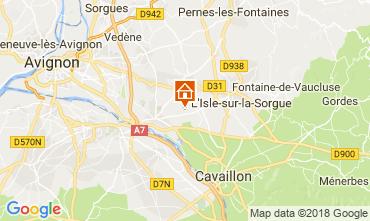 Karte Isle sur la Sorgue Haus 113943