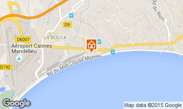 Karte Cannes Appartement 82546