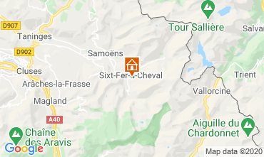 Karte Sixt Fer à Cheval Chalet 116957