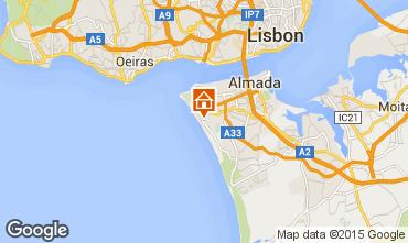 Karte Costa de Caparica Appartement 52423