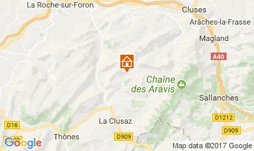 Karte Le Grand Bornand Chalet 112003