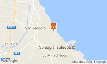 Karte San Teodoro Appartement 113879