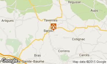 Karte Barjols Appartement 96501