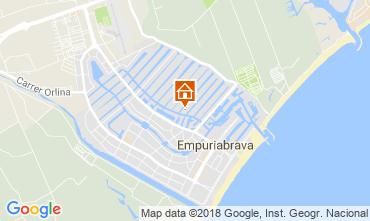 Karte Empuriabrava Villa 94112