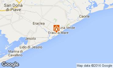 Karte Eraclea Mare Appartement 90467