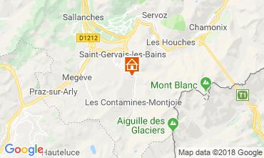 Karte Saint Gervais Mont-Blanc Chalet 116893
