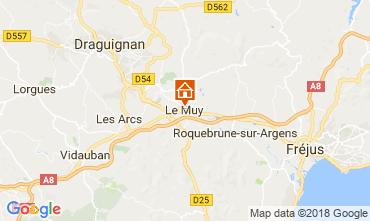 Karte Roquebrune sur Argens Appartement 115227