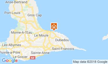 Karte Le Moule Appartement 117382