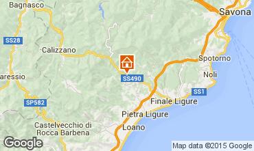 Karte Pietra Ligure Appartement 95383