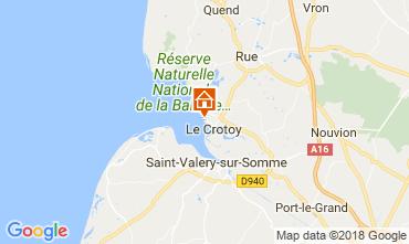 Karte Le Crotoy Appartement 114336