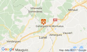 Karte La Grande Motte Villa 104733