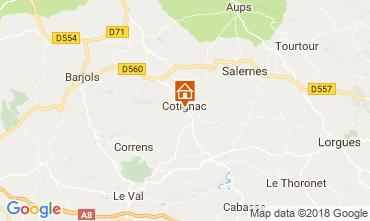 Karte Cotignac Haus 113630