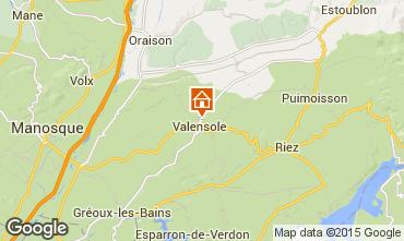 Karte Valensole Villa 73835