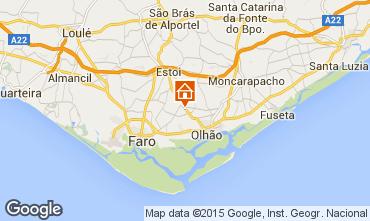 Karte Olhão Villa 71092