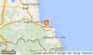 Karte Collioure Studio 96405