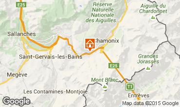 Karte Chamonix Mont-Blanc Appartement 93214