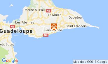 Karte Sainte Anne (Guadeloupe) Appartement 102738