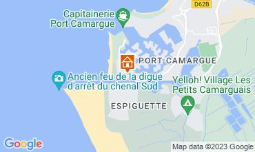 Karte Port Camargue Appartement 105465