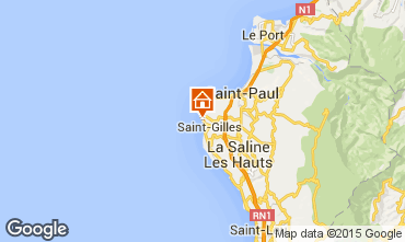 Karte Saint Gilles Haus 9879