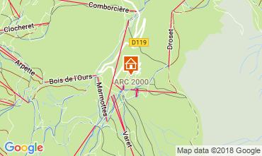 Karte Les Arcs Appartement 220