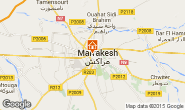 Karte Marrakesch Haus 68622