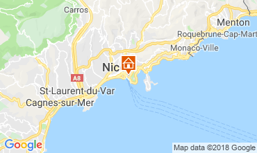 Karte Nice Villa 117272