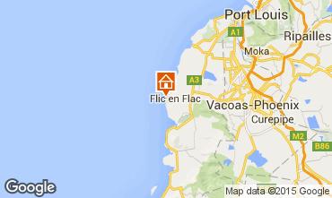 Karte Flic-en-Flac Appartement 71425