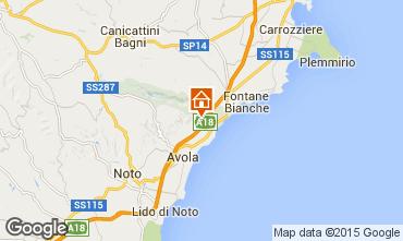 Karte Syrakus Villa 67859