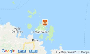 Karte La Maddalena Villa 55314